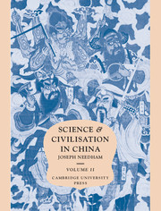 Science and Civilisation in China : Volume 2, History of Scientific Thought