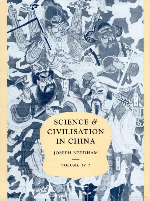 Science and civilisation in China : Volume 4, Physics and physical technology. Part 2, Mechanical engineering
