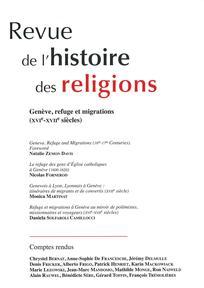 Revue de l'histoire des religions : Vol. 203, No. 1 (JANVIER-MARS 1986)