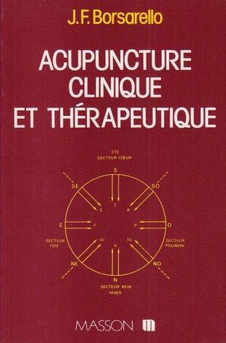 Manuel clinique d'acupuncture traditionnelle