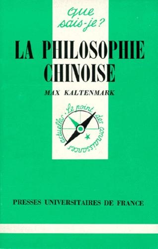 La Philosophie chinoise