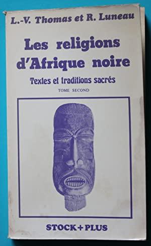 Les religions d'Afrique noire, Tome 2