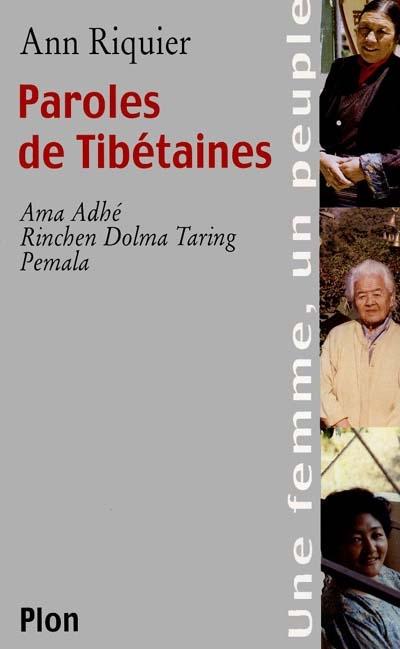Paroles de Tibétaines