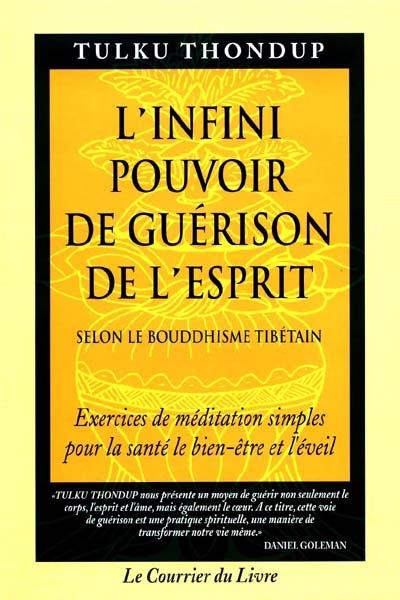 L'infini pouvoir de guérison de l'esprit : selon le bouddhisme tibétain : exercices de méditation simples pour la santé, le bien-être et l'éveil